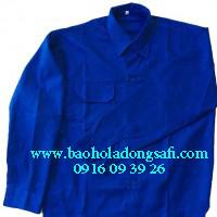 bao ho lao dong - Áo bảo hộ vải Kaki Nam Định