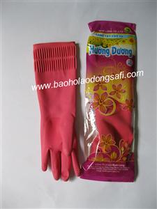 bao ho lao dong - Găng tay cao su loại dài