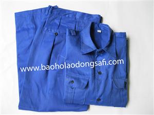 bao ho lao dong - Quần áo vải kaki Nam Định các màu