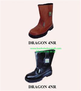 bao ho lao dong - Ủng Dragon 4NR (Ủng bảo hộ lao động da thật)