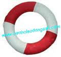 bao ho lao dong - Phao tròn trắng đỏ
